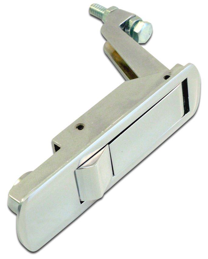 Chrome Trigger Latch Flush Mount Compression