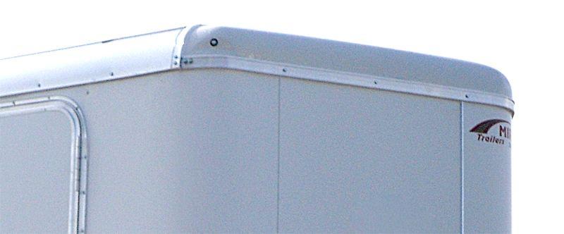Fiberglass Roof Caps V Nose Enclosed Trailers