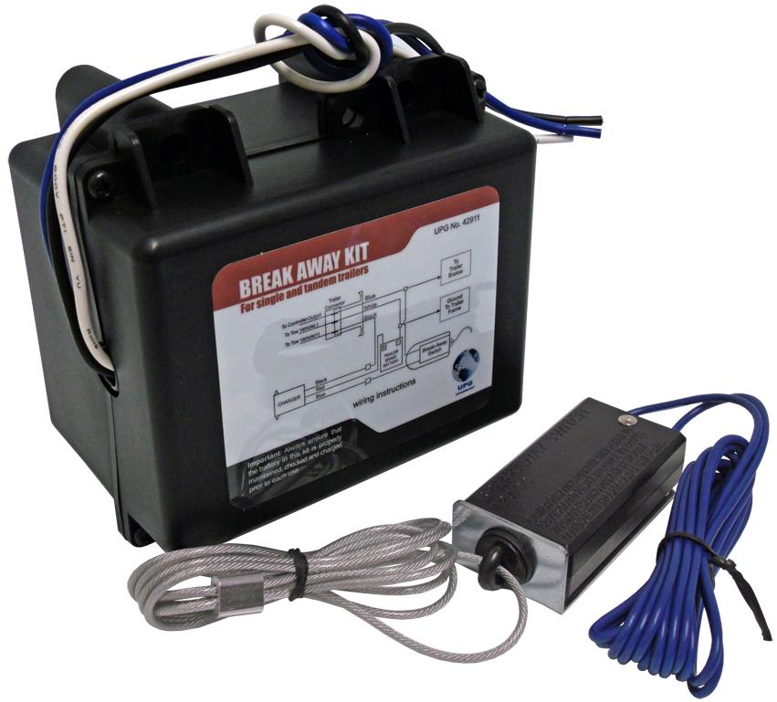 install a breakaway kit - mirage trailers breakaway kit wiring diagram  mirage trailers